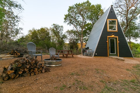 The Modern A, A-Frame Cabin