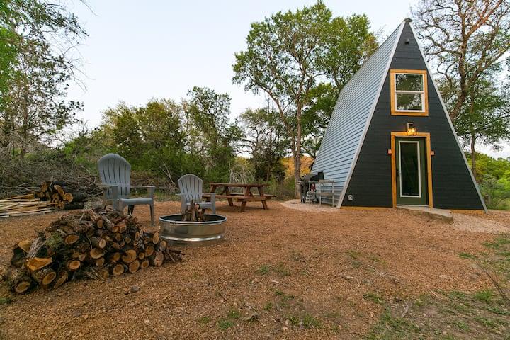 The Modern A, A-Frame Cabin