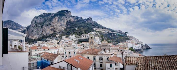 """Amalfi """" Casa dei Greci """" Amalfi coast sea view"""
