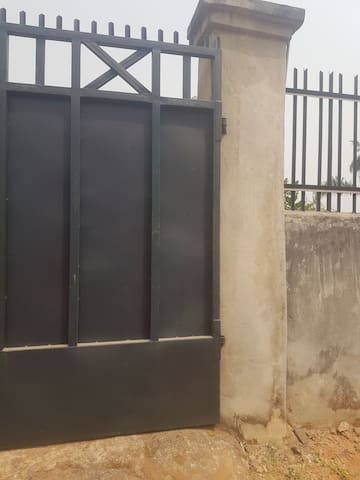 Affordable apartment in a fenced compound