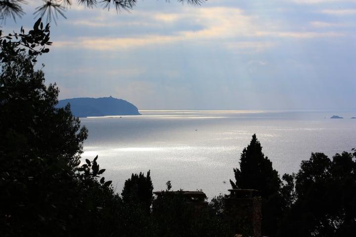 Maison Catherine superbe vue mer et terrasses
