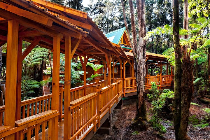 Volcano Places Laukapu Forest Cottage
