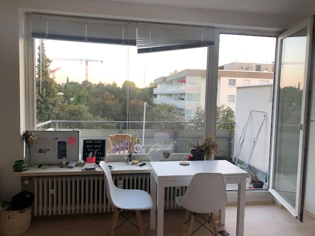 Great Apartment With Big Balcony and a Nice View