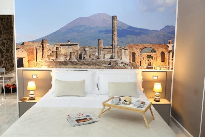 Palazzo Caracciolo del Sole - Pompei room