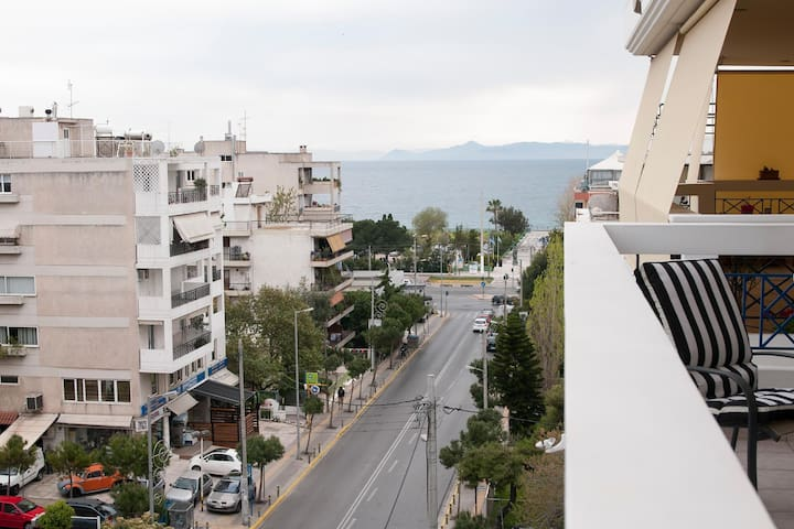 Kalamaki sweet stay for 4 - Alimos - Apartment