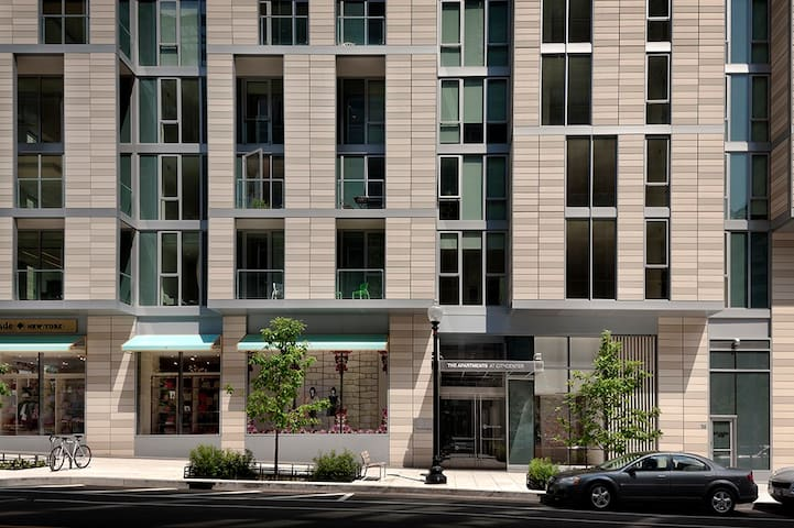 Clean, chic, and centrally located downtown apt - Washington - Daire