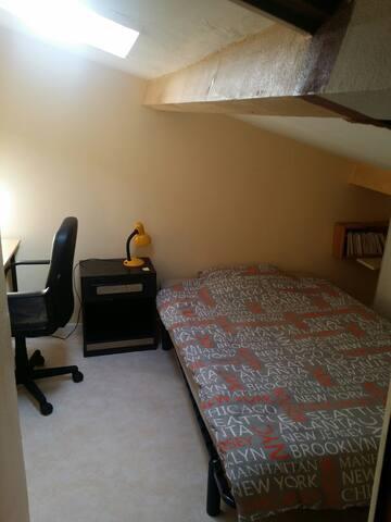 Petite chambre à la campagne, 25 km de Bordeaux