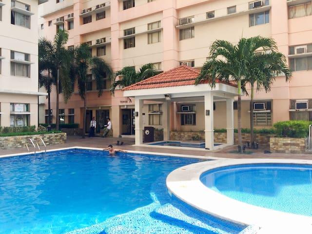 Comfy and Spacious 2 BR Condo Unit in Manila