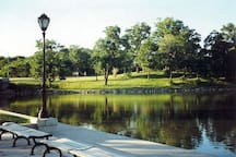 Deleware Park perfect for walking and jogging as well as bringing your dog out and children to play around a beautiful shallow lake :) with sprawling acres of park land to. Picnic and relax and join in the local activities