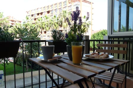 Centric studio with cute terrace and pool (wifi) - Puerto de la Cruz