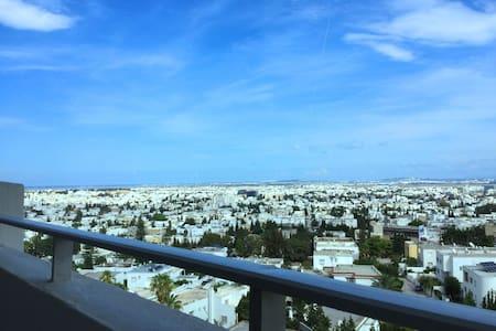 Panorama au centre de Tunis - Ariana