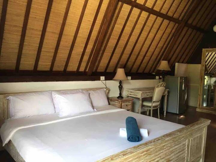 Private Bungalow Denva Villa at Balangan Beach
