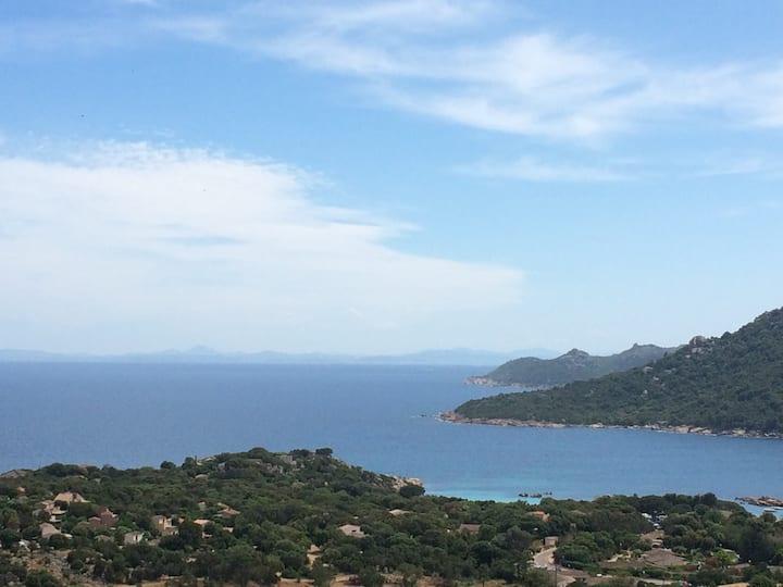 Santa giulia mini villa T2 vue mer exceptionnelle