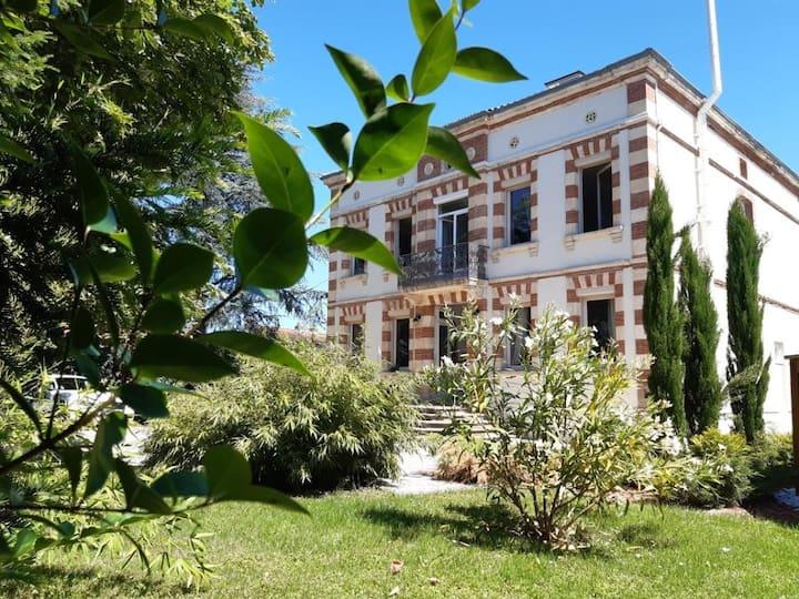 2 Chambres dans maison de maître dans le Tarn