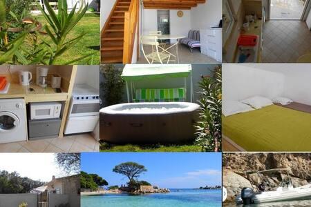 Studio avec mezzanine proche plages
