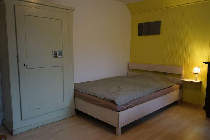 direkt am Kocher-Jagst-Radweg, gelbes Zimmer - Schwäbisch Hall - Haus