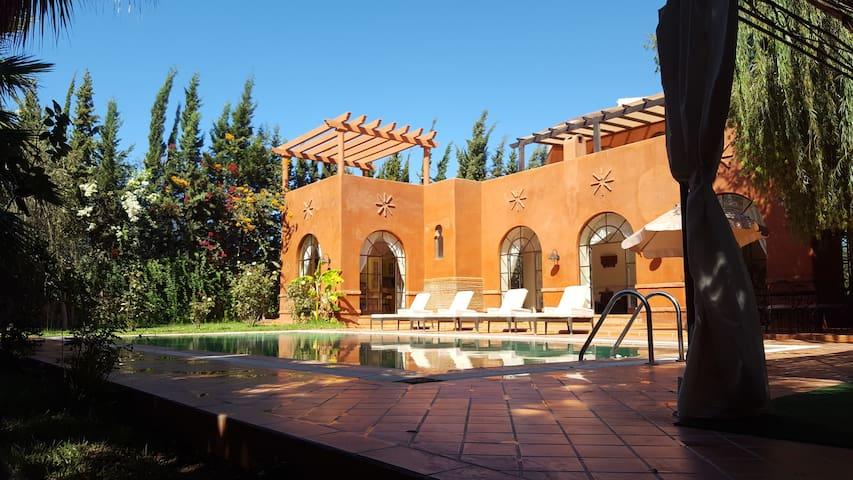 un havre de paix au milieu des arganiers - Marrakesh - Casa de camp