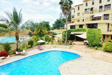 1 bedroom apartment fully furnished in Kigali - Kigali - Flat