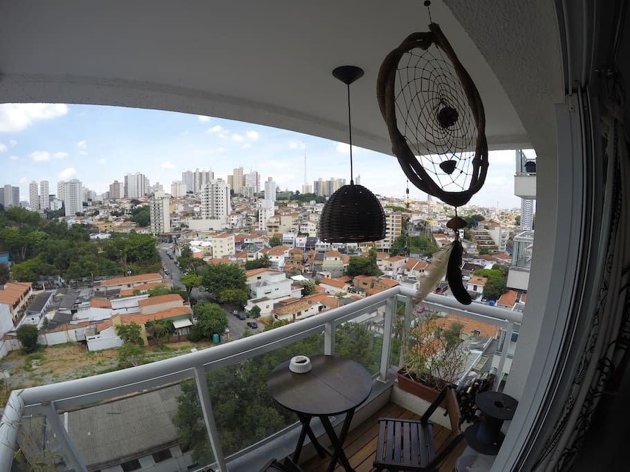 Balcony with a great landscape view