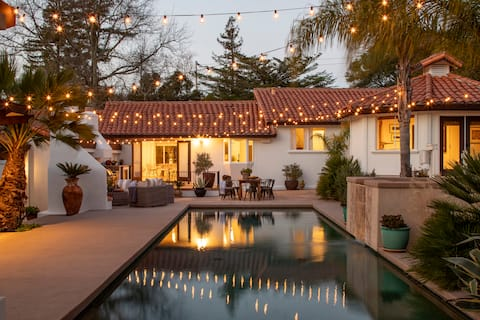 Wine Country Boho Villa