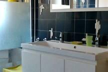 salle d'eau pour Rbnb