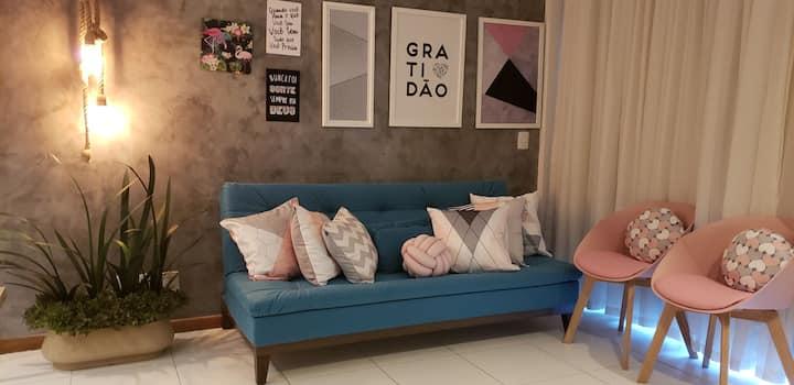 ILOA Resort - APT 3/4 com conforto e requinte