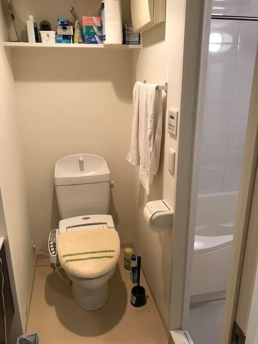トイレも綺麗に利用お願いします