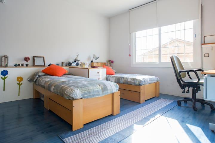 Habitación Doble en Sabadell - Sabadell - Huis