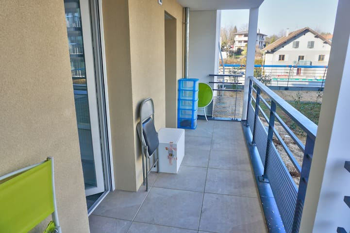 balcon chambres