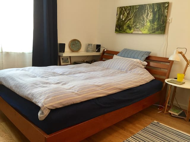 Quiet, comfy and own bathroom near to city center - Munic - Pis