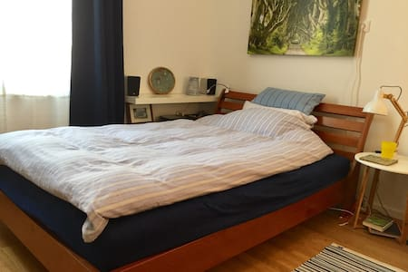 Quiet, comfy and own bathroom near to city center - München - Flat