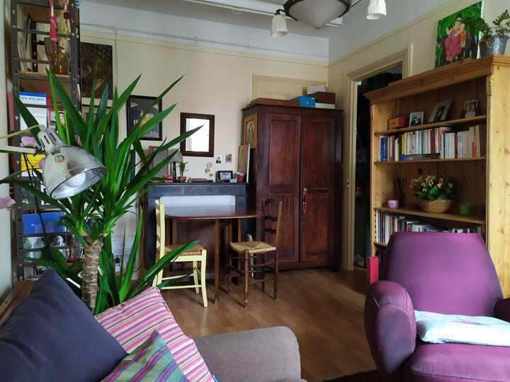 Appartement chaleureux très proche du métro