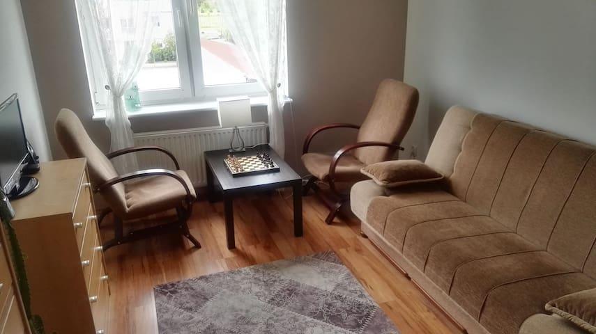 Pokój w mieszkaniu dwupokojowym