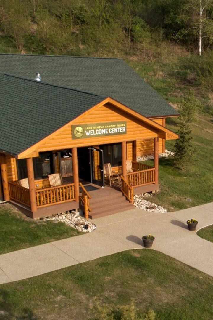 Our Lodge and Welcome Center
