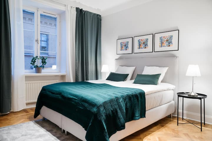 Completely Refurbished Flat in Sthlm's Prime Area