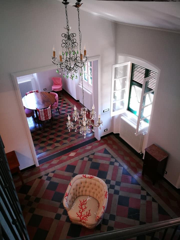 Casa 1897  in Rapallo's hearth 150 m. from the sea
