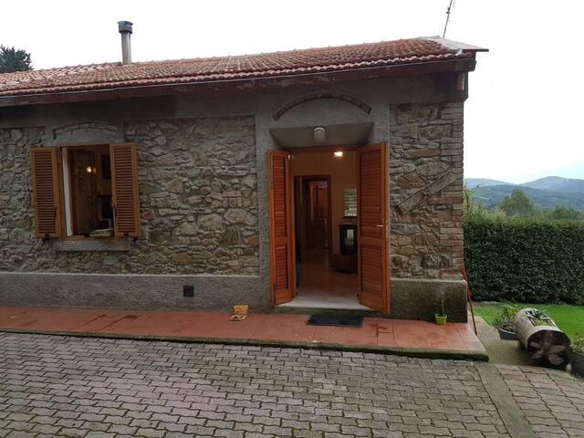 Accogliente casa in stile toscano.