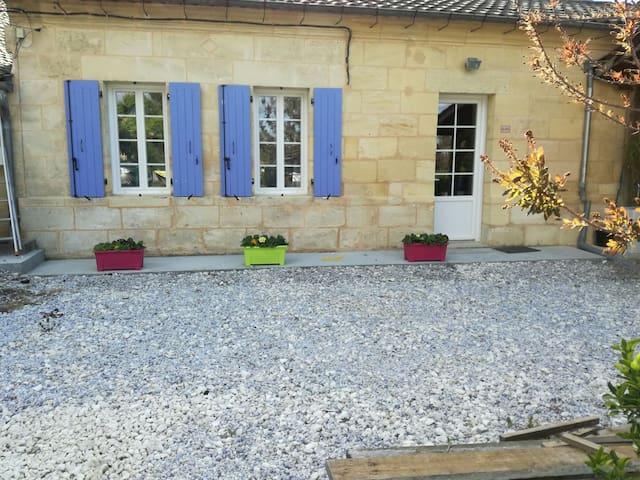 Maison entre Bordeaux et Saint-Emilion - Nérigean - Haus