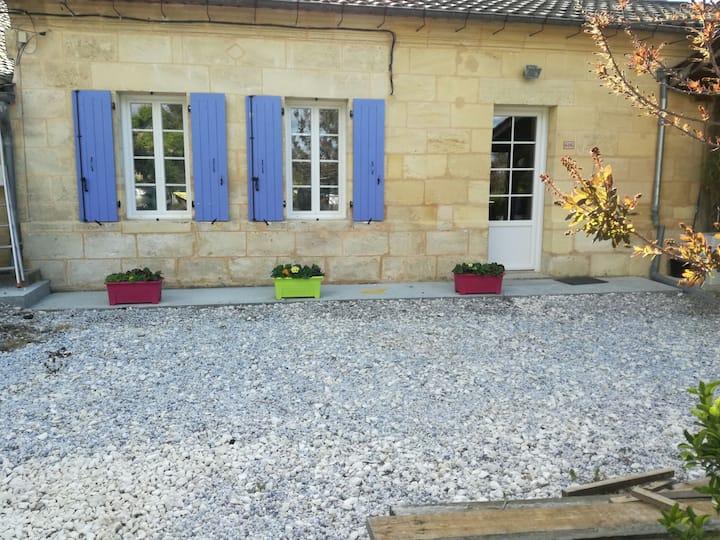 Maison entre Bordeaux et Saint-Emilion