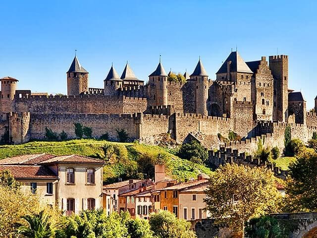 Stunning medieval city of Carcassonne