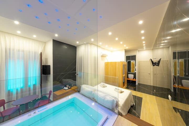 Abside Suite & Spa - Suite with sauna and jacuzzi