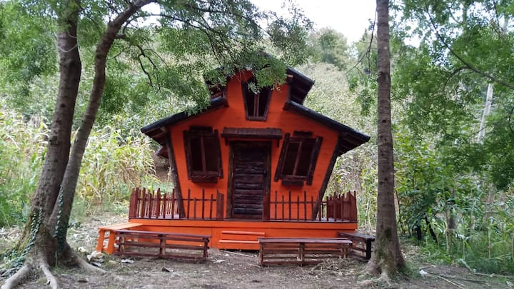 Muhteşem Sapanca Gölü Manzaralı Hobbit Evi