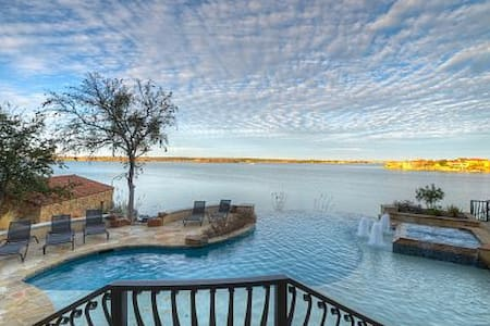 Luxury Lake Lbj Waterfront Estate Home - Horseshoe Bay