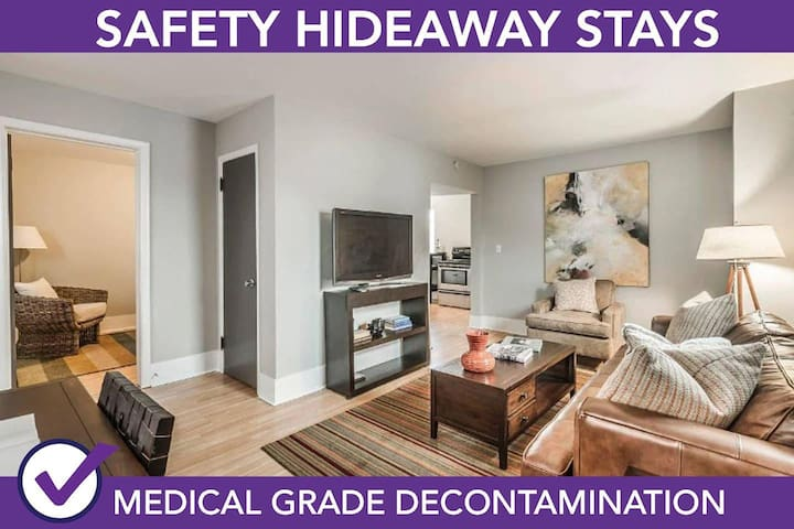 Safety Hideaway - Medical Grade Clean Home 30