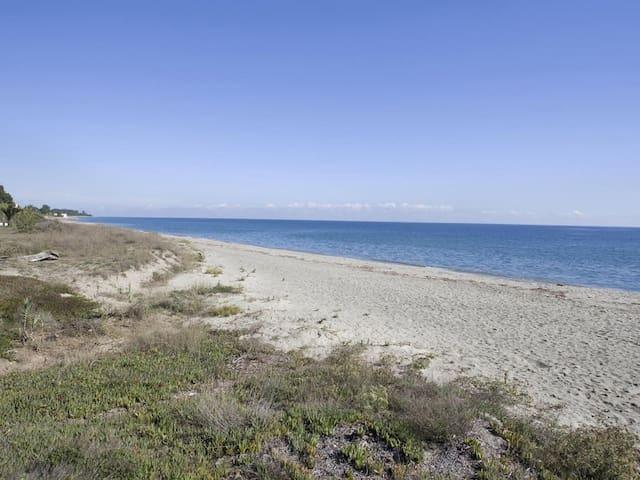 """CORSE """"MORIANI PLAGE"""" Grand T3  bord de la Mer - Poggio-Mezzana - Flat"""