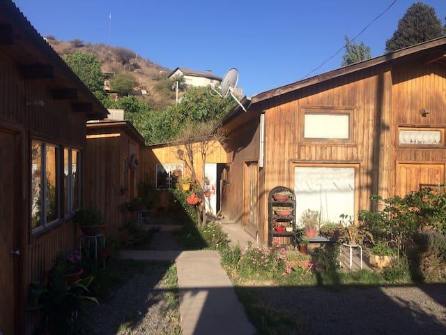 Pieza independiente en bella casa en San Felipe