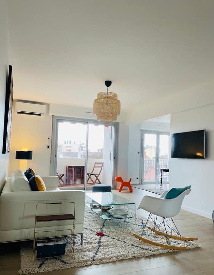 Appartement standing avec terrasses - hypercentre