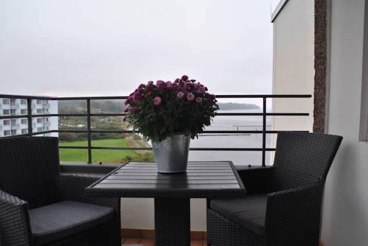 Schöne Ferienwohnung mit Meerblick - Glücksburg (Ostsee) - Apartamento