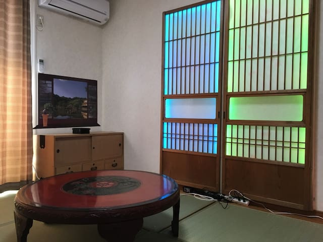 羽村駅徒歩14分 凝った内装でゆったりと滞在できる2DK - Hamura-shi - Apartmen