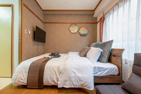 ◆Free WIFI◆Near Shinjuku! Lovely room  I6